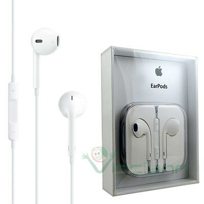 Cuffie+microfono Earpods originali Apple MD827ZM B per iPhone 6 Plus 3Gs 3G  iPod 50b6219053f4
