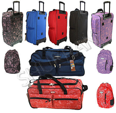 Jeep XXL Extra Large Wheeled Travel Luggage Trolley Holdall Suitcase Duffle Bag