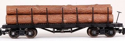 Bachmann G Scale Train (1:22.5) Log Cars Flat Car Unlettered 98470