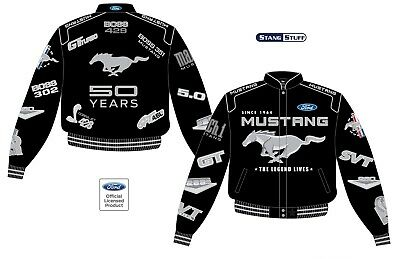 50 Years Mustang Multi Logo Jacket - Mach GT/CS BOSS GT SVT 50th Anniversary