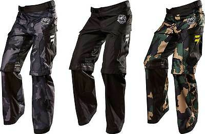 2015 Shift Recon Logo Motocross Dirtbike MX ATV Riding Gear Adult Mens Pants