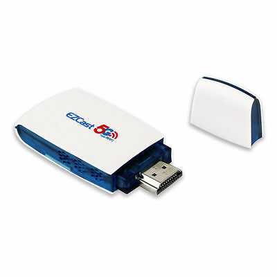 Newest EZCast 5G+2.4G 300Mbps WiFi DLNA Miracast Airplay Mirroring HDMI TV Dongl