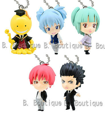 Assassination Classroom figure keychain strap x1 ONLY Nagisa Akabane Karasuma