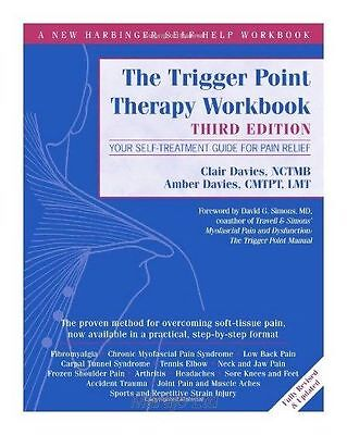 "Trigger Point Therapy Workbook: Your Self-Treatment Guide... Davies ""BRAND NEW"""