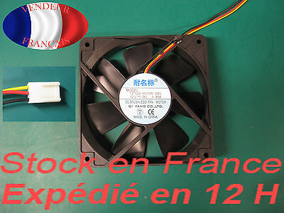 VENTILATEUR / FAN Silencieux 120 mm  2300 trpm / rpm