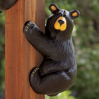 Big Sky Carvers Bearfoots Black Bear Grand Climber Jeff Fleming Corner Bear