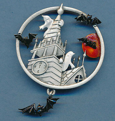 Halloween Bats In The Belfry Jonette Original!
