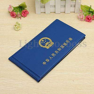 Paper Money Holders Collection Storage Pockets Album Book Collecting 40 note