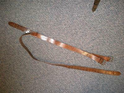 Lineman's Vintage Leather Climbing Belt 1957