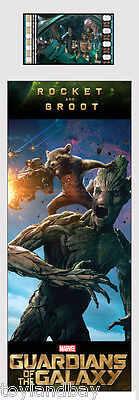 Film Cell Genuine 35mm Laminated Bookmark Guardians of the Galaxy Rocket & Groot
