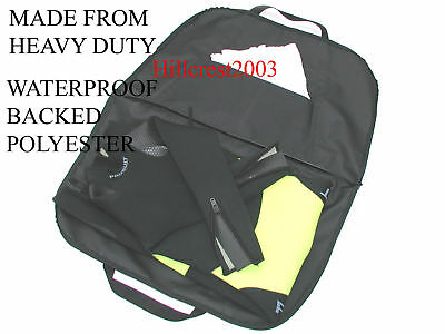 SCUBA DIVING BAG / MAT for DRY SUIT WITH INSIDE POCKET (FREE EMBROIDERY OF NAME)