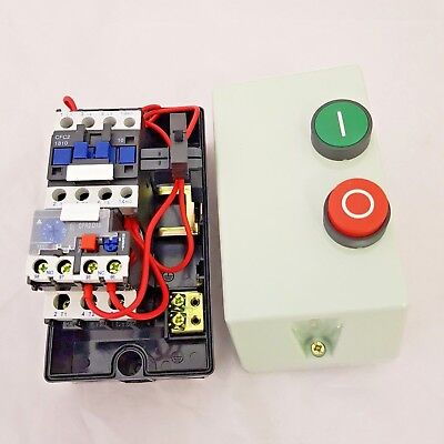 Electric Motor DOL Starter 240V OR 415V Pre Wired Contactor and Overload Fitted