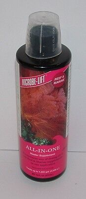 MICROBE LIFT ALL IN ONE 473ml REEF & MARINE MASTER SUPPLEMENT