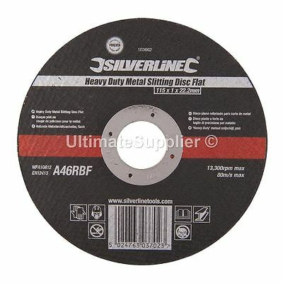 "Heavy Duty Metal Slitting Cutting Discs Disks Thin Angle Grinder 115mm 4.5"" inch"