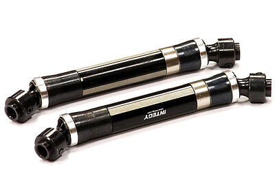 Integy Aluminum Main Universal Drive Shaft Set for Axial Wraith C24587BLACK