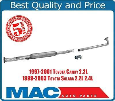 Exhaust System Resonator Extension Pipe For Subaru 99 01 Impreza 02 Forester Mac Auto Parts