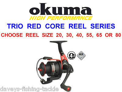 Clearance Okuma Trio Red Core Reel For Sea Pike Lure Spinning Bass Rod Fishing