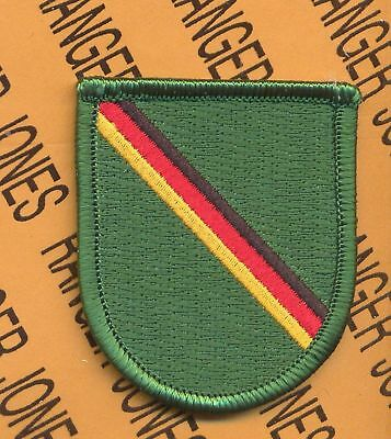1st Bn 10th Special Forces Airborne Det. Europe beret flash patch B