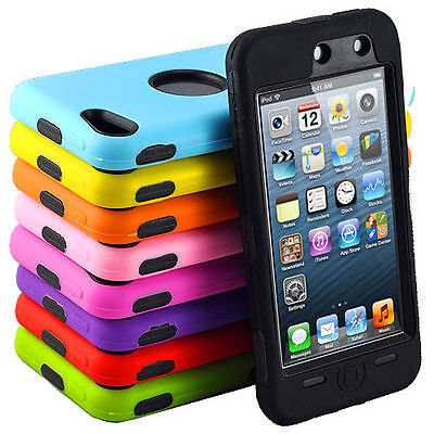 Heavy Duty Tough Tradesman Colourful Case Cover for Apple iPod Touch 5 & 6 Gen