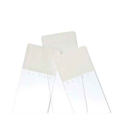 One-Side Frost White Glass Slides 90 Corners 1440 pk