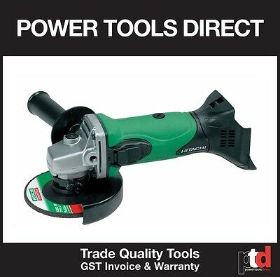 New Hitachi 18V Cordless G18Dsl 125Mm Angle Grinder Skin Bare Tool Only