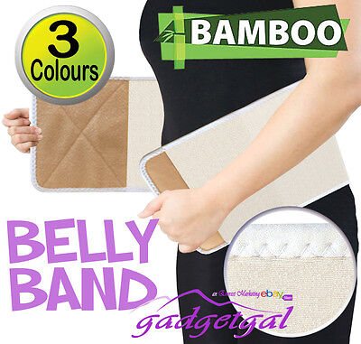 Bamboo Post Natal Pregnancy Birth Support Belt, Belly Band Post-partum postnatal