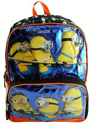 Despicable Me Minions Licensed Brown Drawstring Bag School Backpack