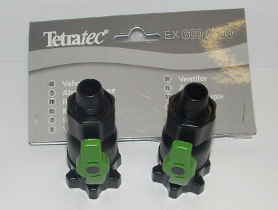 Tetratec Ex600/700 Ex400+/ex600+/ex800+ Taps/ Valves For Adapter T703363/th31901