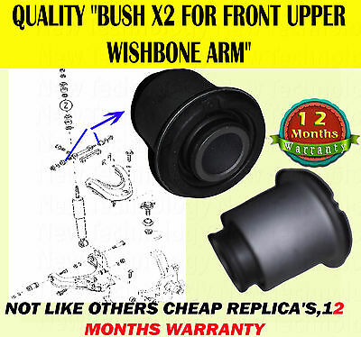 For Ford Ranger Mazda B2500 98> Front Upper Wishbone Suspension Arm Bush Only X2