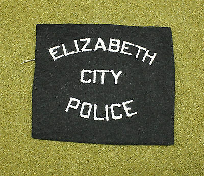 31809) Patch Elizabeth City North Carolina Police Department Sheriff Law Enforce