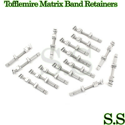 20 pcs Universal Tofflemire Matrix Band Retainers Dental