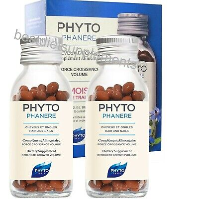 Phyto Phytophanere Hair & Nails Dietary Supplements 240 Caps Four Month Supply