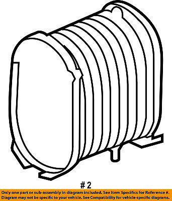 Ford Oem 08 10 F 350 Super Duty Engine Air Cleaner Filter Element