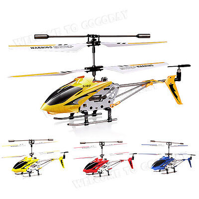 Syma Gyro Genuine S107G 3-Channel 3.5CH Mini Remote Control RC Helicopter