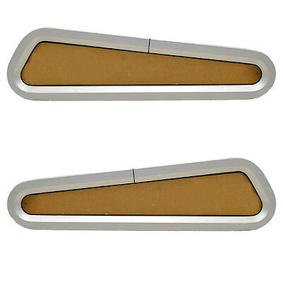 Bomar Pompanette Wfb000347-1 / Wfb000346-1 Boat Portlight / Hatch (Set Of 2)