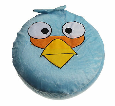 Angry Bird Kids Adults Seat Home Office Stool Pouffe Inflatable Portable Birds B