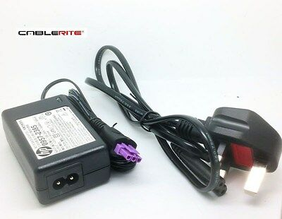 22v HP Deskjet 2540 All-In-One Printer ac/dc power supply cable adaptor + plug c