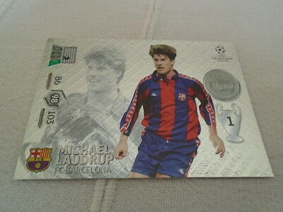 Panini Adrenalyn xl Champions League 2012/13 Michael Laudrup Legend card