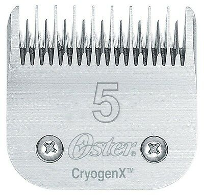 NEW OSTER 5 (SKIPTOOTH) BLADE. 6.3mm