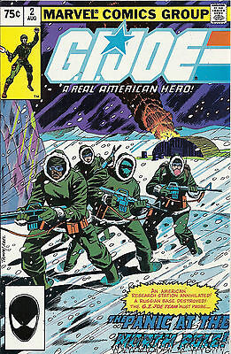 GI Joe  #2  NM  (2nd print)