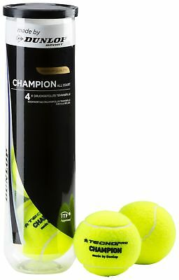 "TECNOpro Champion Allcourt ""made by DUNLOP"" 4 er Tennisbälle"