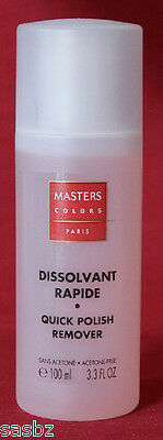 MASTERS COLORS Dissolvant 100ml