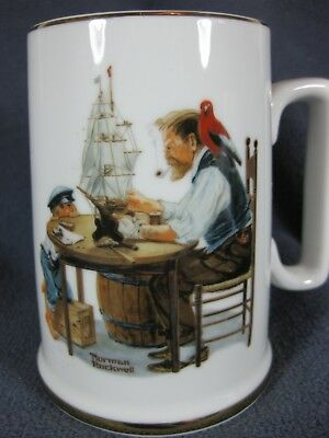 For A Good Boy Norman Rockwell Museum Coffee Mug Cup 1985