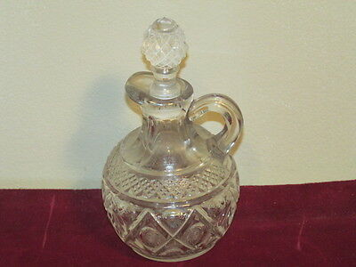 Antique Imperial Cape Cod Crystal Cruet with Stopper VFC