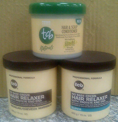 TCB No Base Creme Professional Formula Relaxers