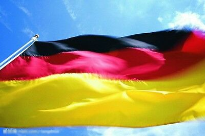 Wave 3x5 Feet Super-Poly German FLAG Country  germany football Banner 90x150mm