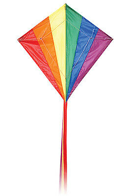 Diamond Stunter Kite with flying line and tail