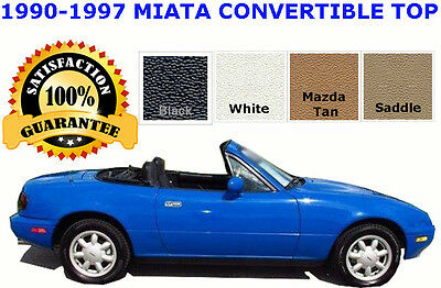 Miata Convertible Top And Vinyl Window  Color Choice  Install Video  90-97
