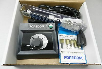 FOREDOM  K.EMX-50 CHISEL 50C HANDPIECE TABLE TOP CONTROL+11-Chisels WOODCARVING