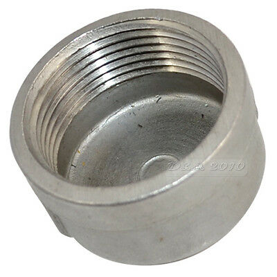 "1-1/4"" Cap Female Stainless Steel SS304 Threaded Pipe Fitting BSP NEW IN"